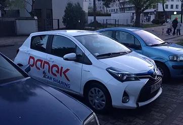"""Pierwsze """"PANKI"""" na ulicach Warszawy."""