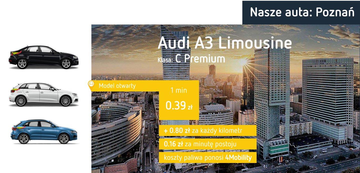 """Poznań nie ma dość. Audi """"czwórek"""" jednak nad Wartą."""