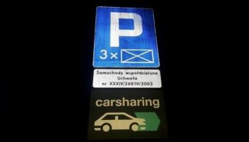 Poznań promuje współdzielenie. Pierwsze parkingi już są.