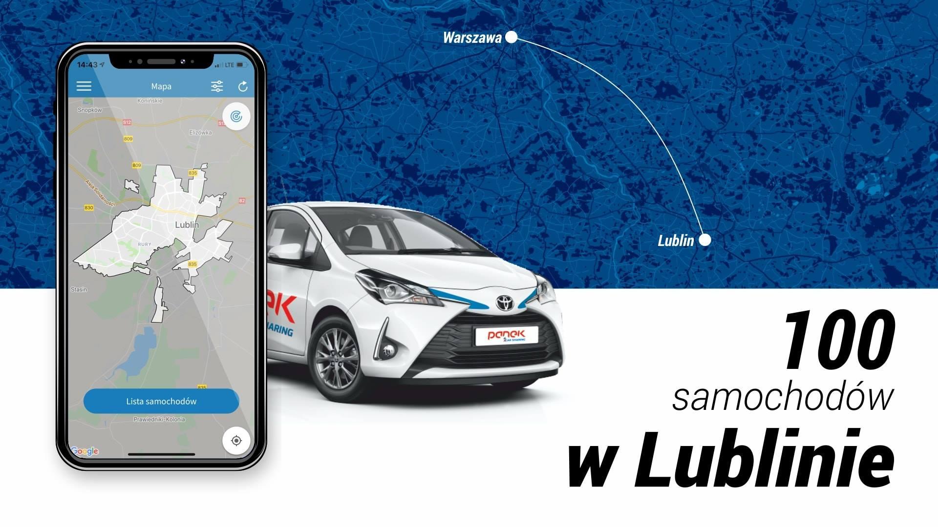 Lublin znów ma Carsharing… i nowe połączenie z Warszawą.