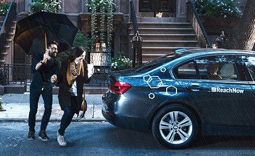 BMW ucieka z Brooklynu.