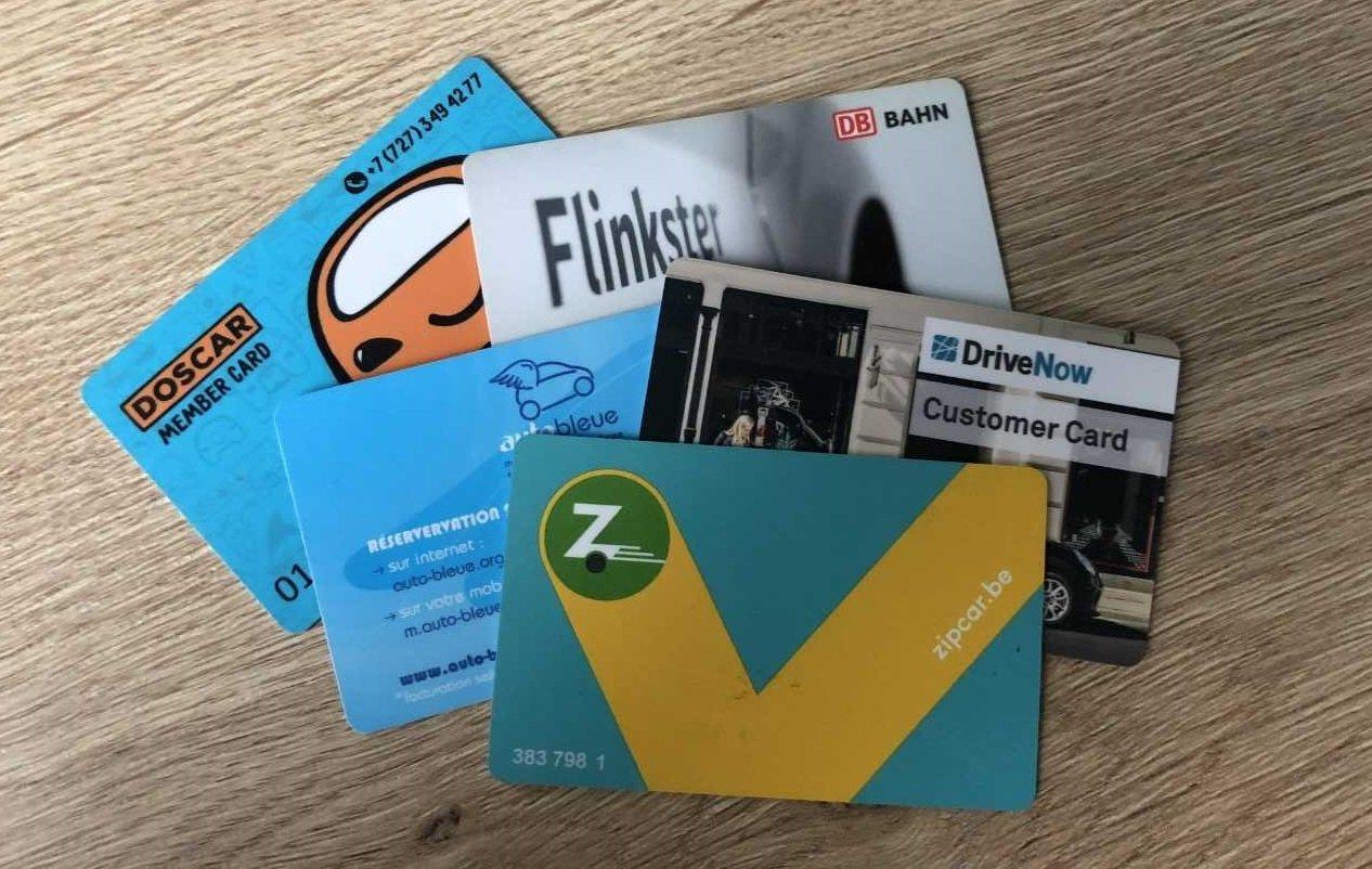 Karta RFID – symbol carsharingu… w Polsce nieznany.