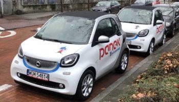 "Panek CarSharing idzie w ""elektryki""."