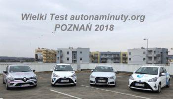 Pierwszy test aut na minuty w Poznaniu. Już wkrótce u nas.