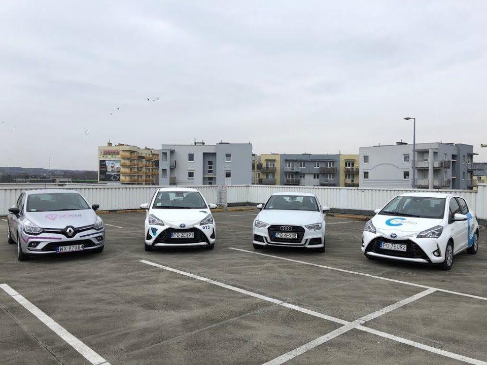 Pierwszy Test Carsharingu w Poznaniu.