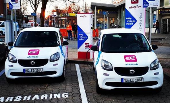 Carsharing z energetyki w stylu niemieckim.