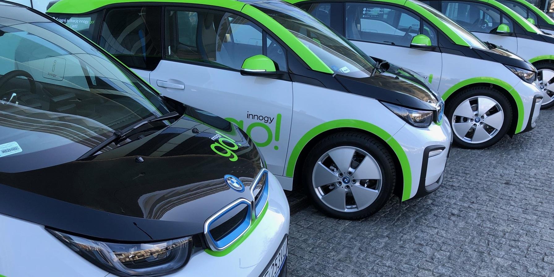 Innogy GO! – największy polski carsharing elektryczny wjechał do Warszawy.