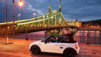 """DriveNow wchodzi do Budapesztu, czyli """"Zachód"""" znów puka do bram Europy Środkowej."""