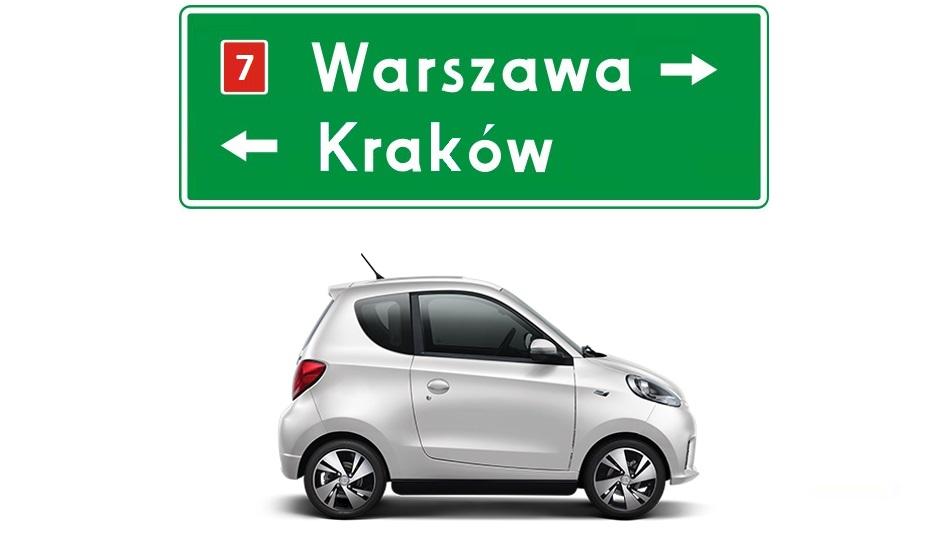 """""""Elektryki"""" Traficara jak niegdyś stolica – przeniesione z Krakowa do Warszawy."""