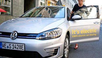 """VW wpuścił 1500 """"elektryków"""" na ulice Berlina…a apetyt ma na znacznie więcej."""