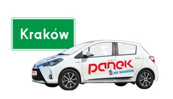 Od lipca Panek CarSharing w Krakowie. Krakowianie będą mieli wybór.