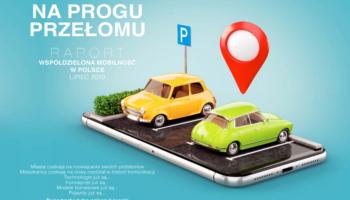 """""""Sharing"""" na progu przełomu. Obszerny raport o współdzielonej mobilności od Mobilnego Miasta."""
