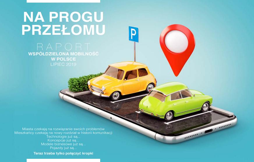 """""""Sharing"""" na progu przełomu. <BR>Obszerny raport o współdzielonej mobilności od Mobilnego Miasta."""
