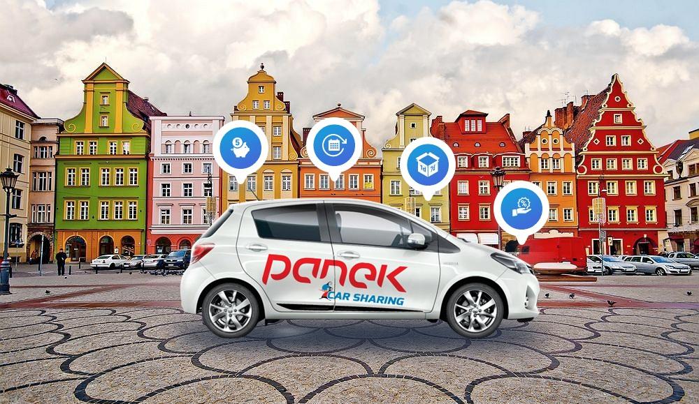 PANEK CarSharing w Trójmieście już jutro… <BR>a następny w kolejce czeka Wrocław.