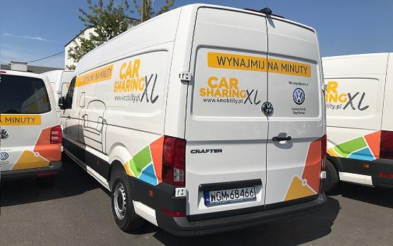 """Nowa jakość w """"BIG Carsharingu""""? <BR>4Mobility XL już wkrótce."""