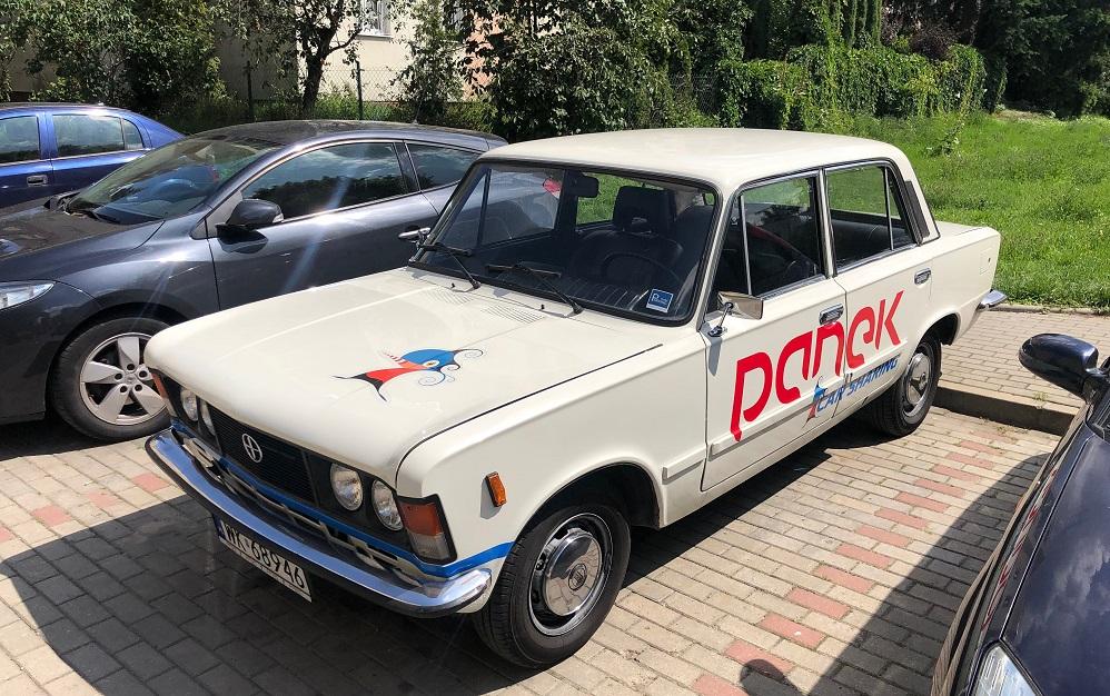 TEST: Fiat 125p w Panek CarSharing (Warszawa)