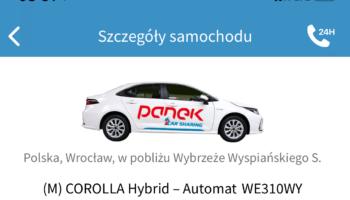 3x Wrocław  Do Vozilli i Traficara dołącza Panek CarSharing.