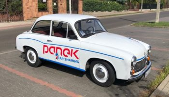 TEST: Syrena 105 Lux w Panek CarSharing (Warszawa)