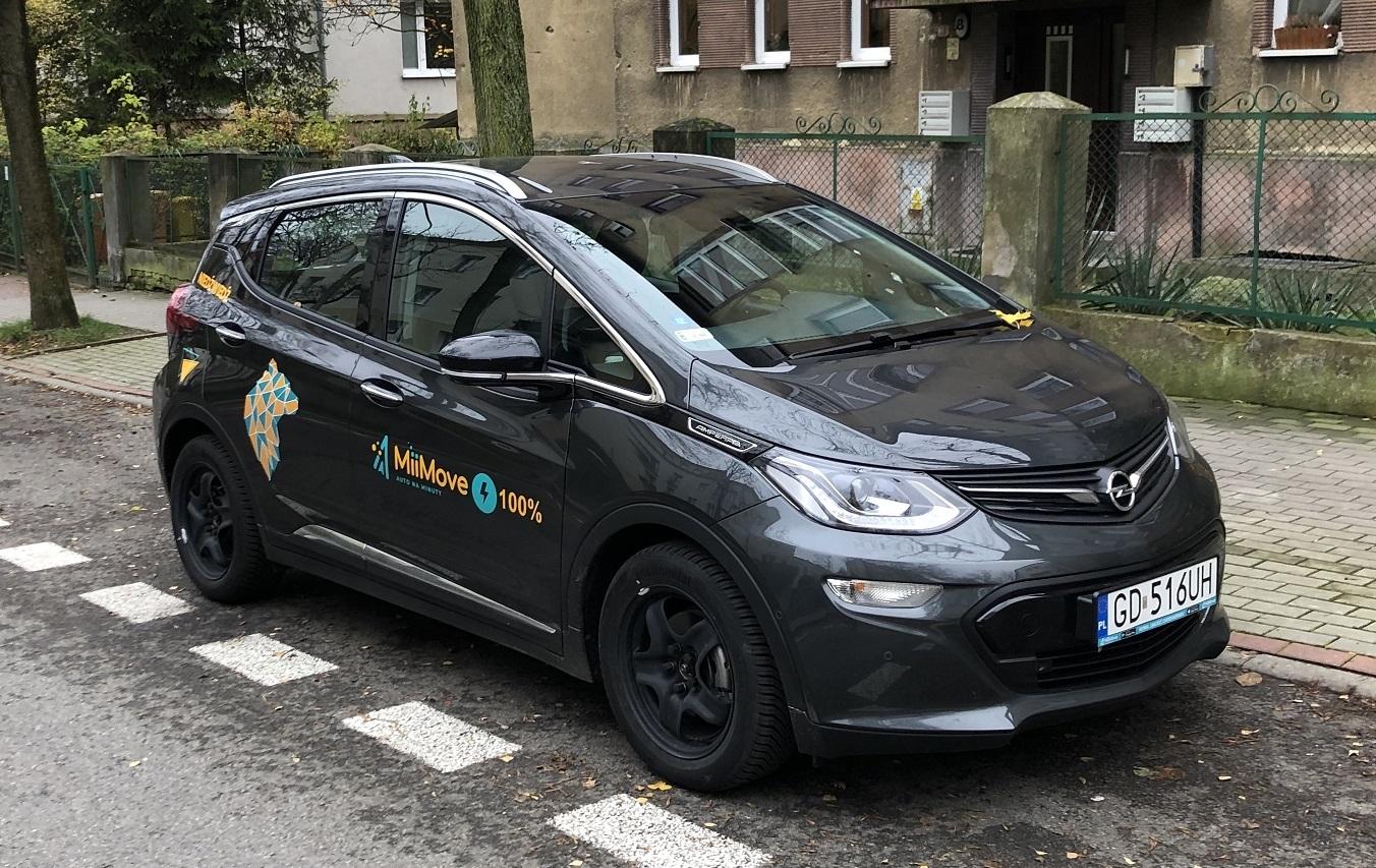 TEST: Opel Ampera-e (EV) – MiiMove (Trójmiasto)