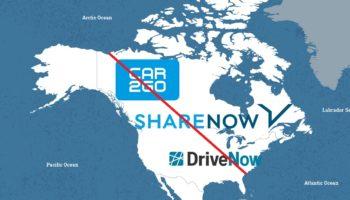 ShareNow opuszcza Amerykę Północną !! Co to oznacza?