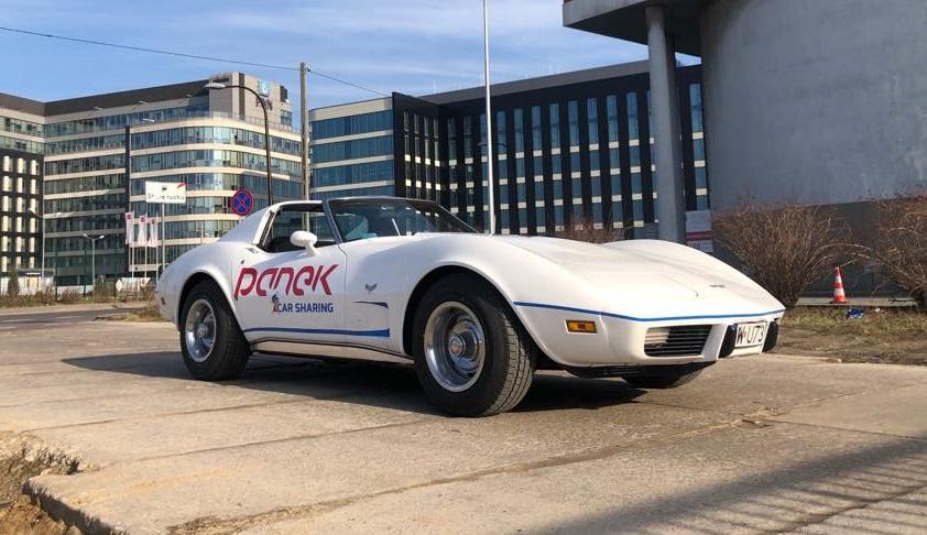 """Klasykometr wywaliło"" <BR>Panek CarSharing zapowiada Corvette."