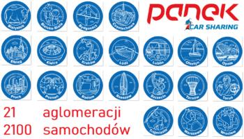 PKS, PKP… PANEK CarSharing.Nowe 11 miast już w aplikacji!!