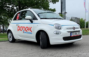 OFICJALNIE: <br>Fiat 500 w Panek CarSharing