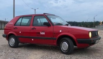 TEST: VW Golf II w CityBee (Wilno)