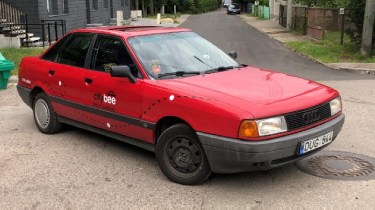 TEST: Audi 80 B3 w CityBee (Kowno)