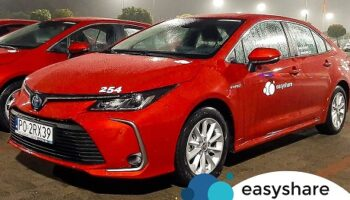 Już nie tylko Yarisy.Nowe samochody w EasyShare.