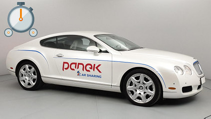 Read more about the article TEST: Bentley Continental GT – Panek CarSharing + Bonus