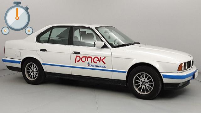 TEST: BMW 520 E34 <br>Panek CarSharing