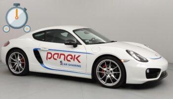 TEST: Porsche CaymanPanek CarSharing