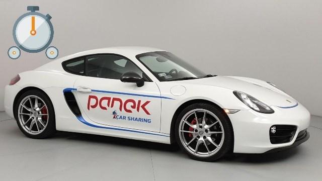 TEST: Porsche Cayman<br>Panek CarSharing