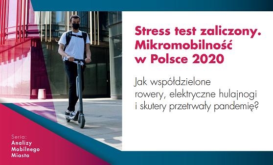 Mikromobilność – podsumowanie 2020 i prognozy na 2021.