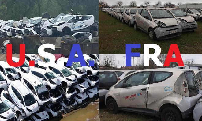 Francja czy Stany Zjednoczone? <br> Los BlueCarów bez różnicy.