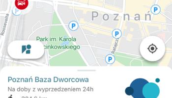 EasyShare w Poznaniu tylko w bazach.