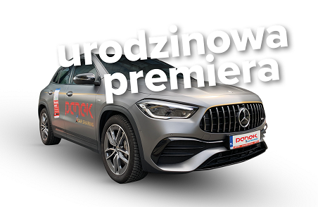 Read more about the article Prawdziwe AMG na 4 urodziny Panek CarSharing!