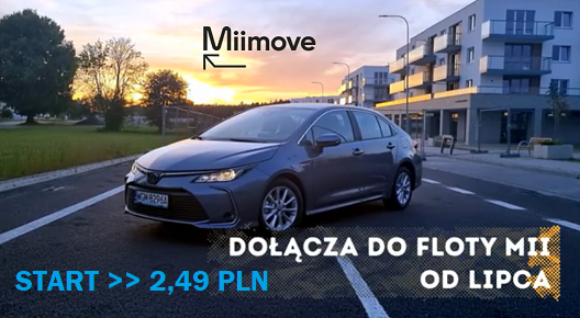 Read more about the article MiiMove z opłatą strartową<br>oraz z pierwszym… nie Oplem.