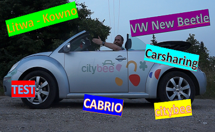Read more about the article TEST: Carsharing na lato.<br>VW New Beetle Cabrio od CityBee.