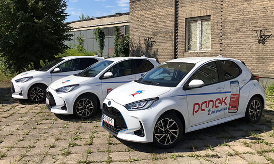 Read more about the article Nowe Yarisy w Panek CarSharing.