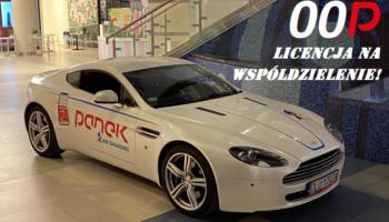 00P – Licencja na współdzielenie. Aston Martin w Panek CarSharing!